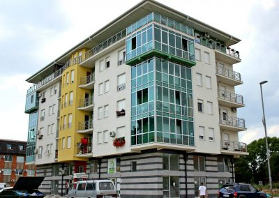 "Stambeno poslovne zgrade ""Most"" i ""Biser"", investitor ""Yelmar"" d.o.o. Ruma"